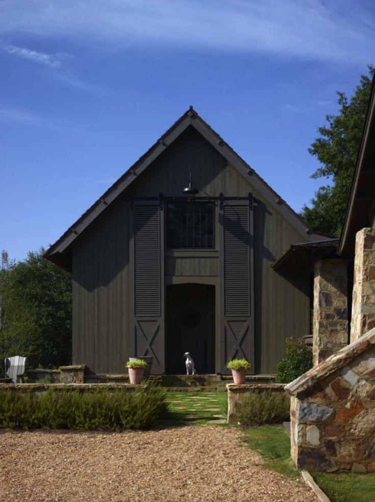 2084 best barns garages cabins chalets images on for Garajes chalets