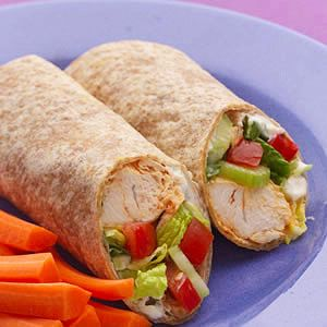 Buffalo Chicken Wrap - 1 of 25 healthy sandwich and wrap recipes