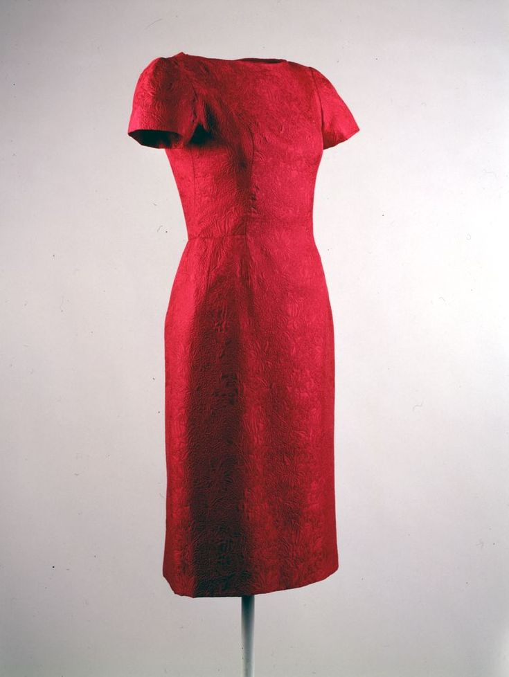 Jackie o red dress american