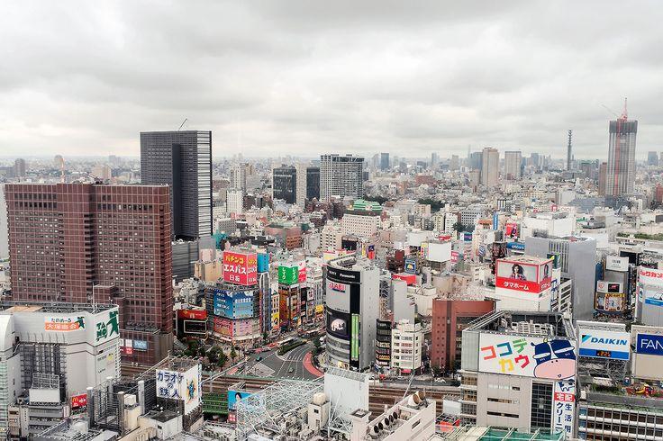 tokyo-fashion:  Cloudy skies over Shinjuku, Tokyo, Japan.