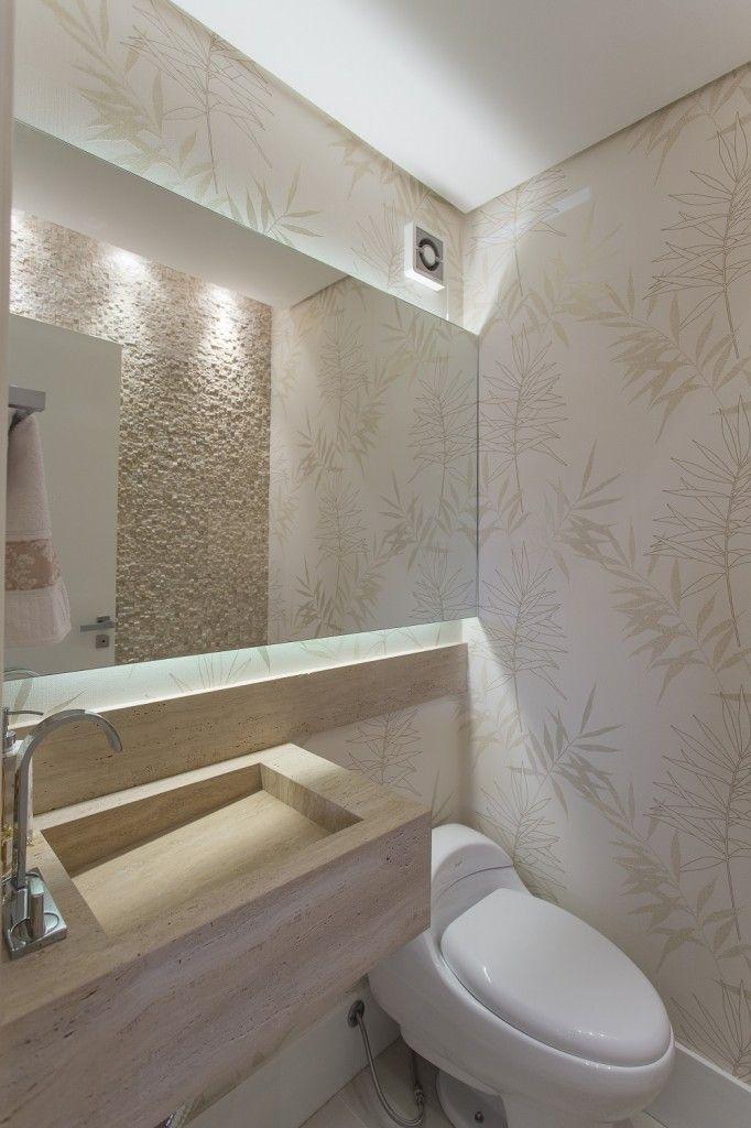 25 melhores ideias de lavabos no pinterest decora o de for Pisos de travertino rustico