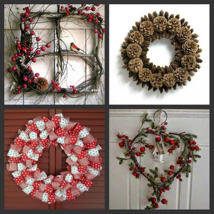 Идеи новогоднего декора — венки и подвески - Ярмарка Мастеров - ручная работа, handmade