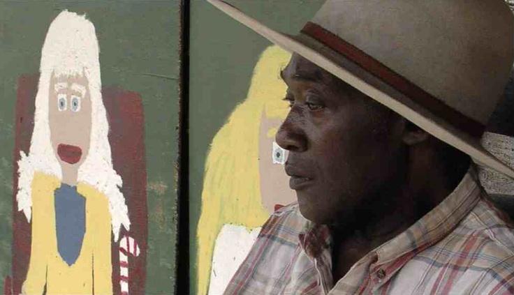 Beeld uit de film  Canvas, die gaat over 'outsider kunstenaar' Jake McCord uit Thomson-Georgia. Gemaakt door kunstenaar Chiel Aldershoff     http://www.dewolven.com/good2b-blog-chiel-aldershoff-documentaire-maker/