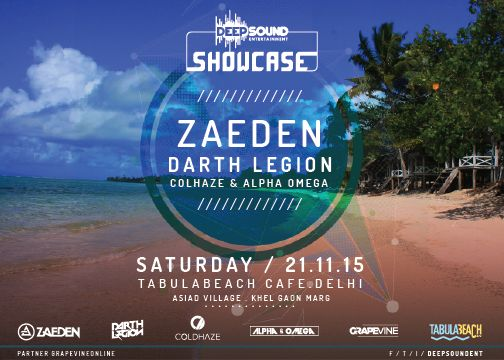 Tabula Beach Cafe DeepSound Showcase