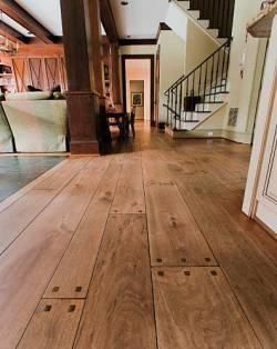 17 Best Ideas About Distressed Wood Floors On Pinterest