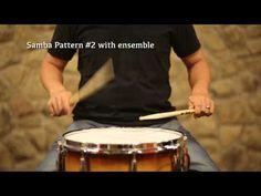 Samba Caixa Rhythms #1-3 - YouTube