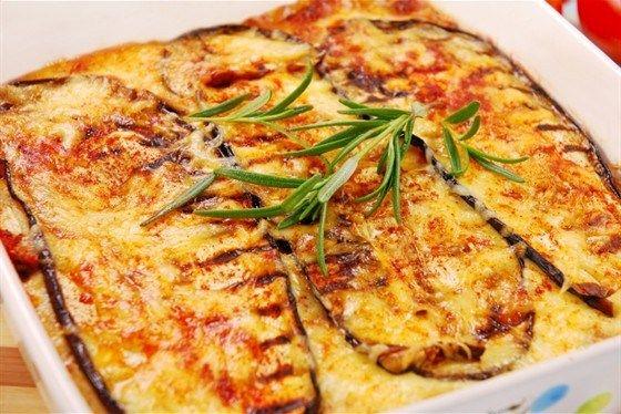 Eggplant with Fresh Mozzarella Recipe