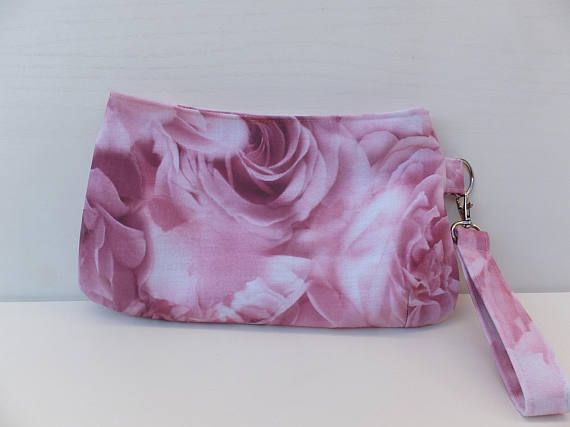 Clutch Purse Wristlet Clutch Bag Handmade Swoon Coraline