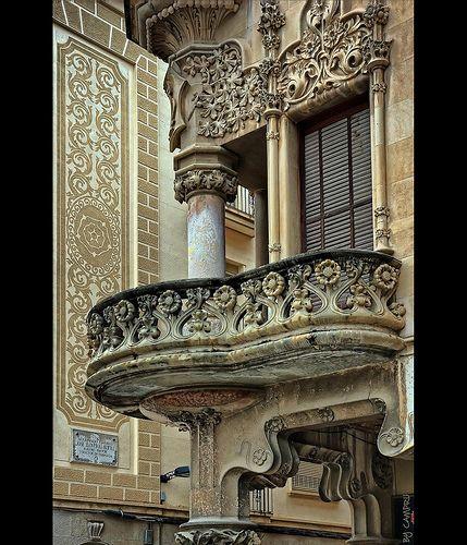 Casa Navás, Reus, Tarragona, Spain, 1908 by  Lluís Domènech i Montaner  Photos: campru