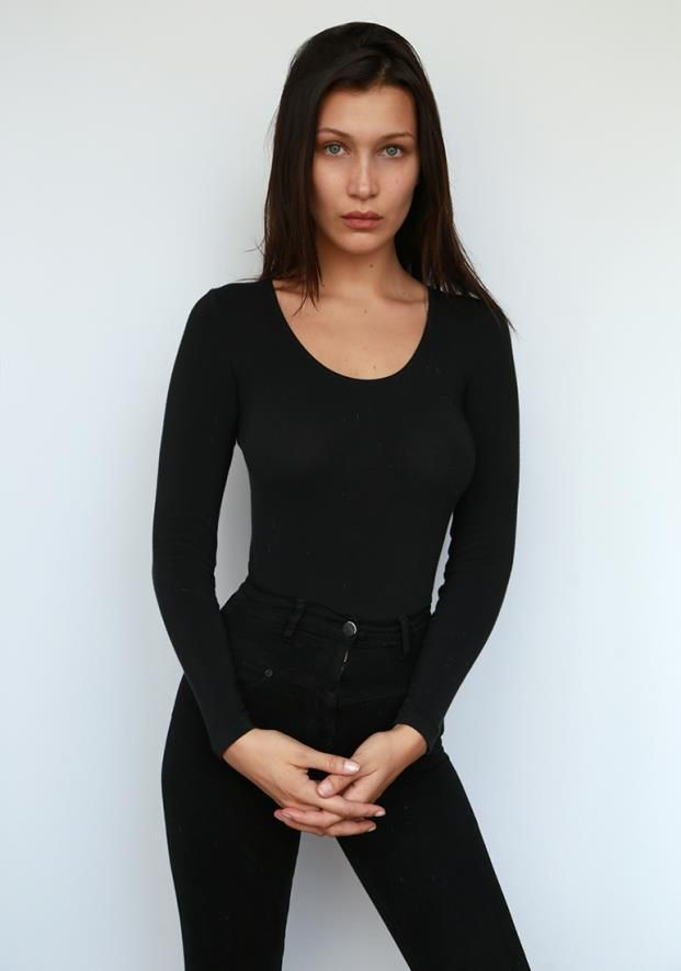 "runwayandbeauty: "" Bella Hadid - IMG Models Digitals 2015. """