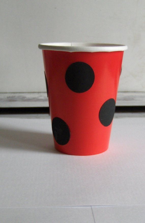 Lady Bug Party Package for 10 by laurenchanel on Etsy, $30.00