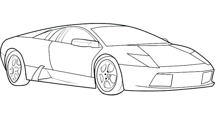 Coloring Pages Car Araba