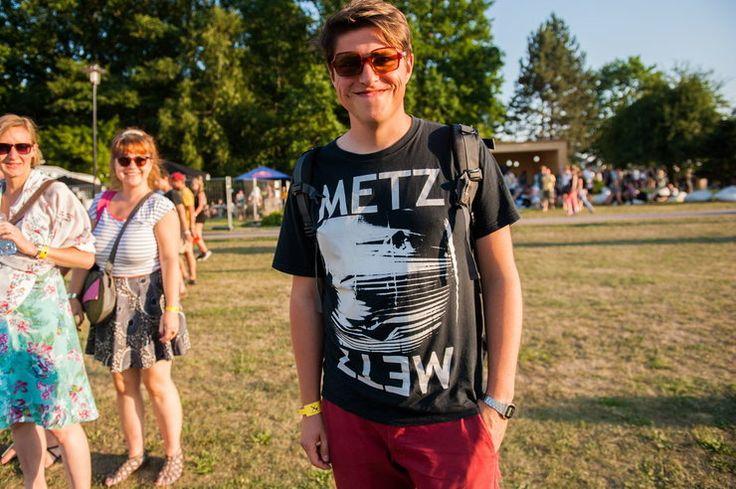 OFF Festival 2015: koszulki z zespołami - zdjęcia publiczności