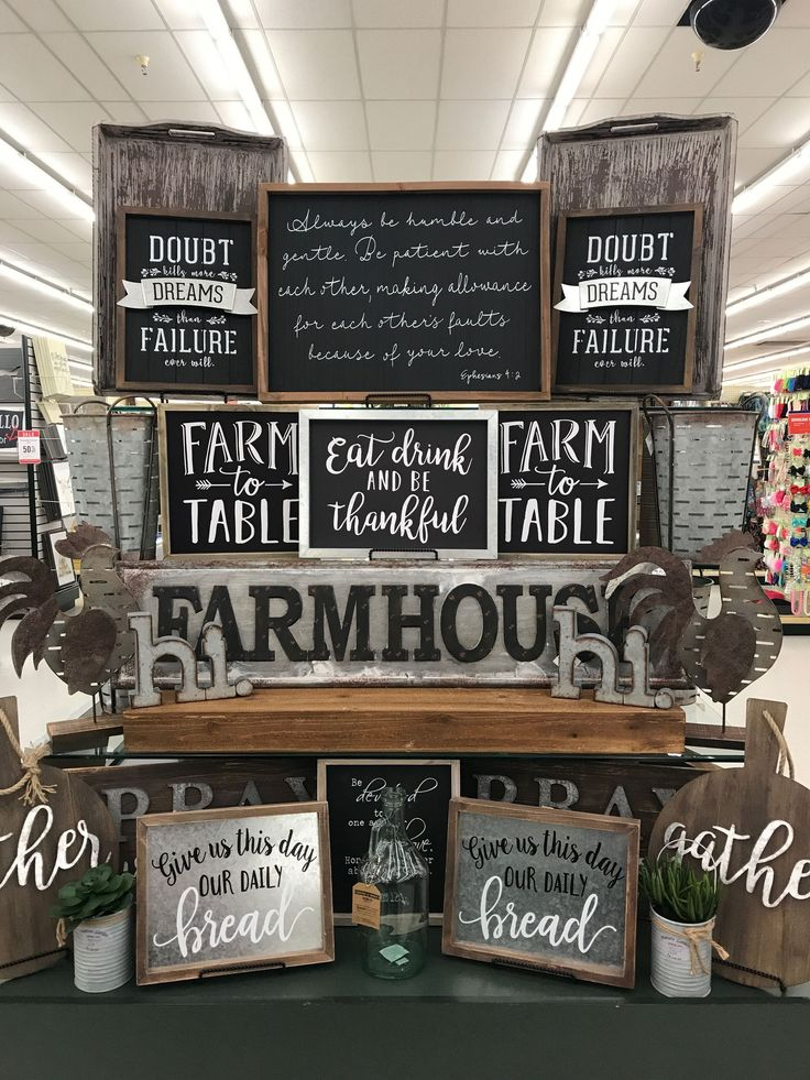40+ Creative Hobby Lobby Farmhouse Decor Ideas Farmhouse