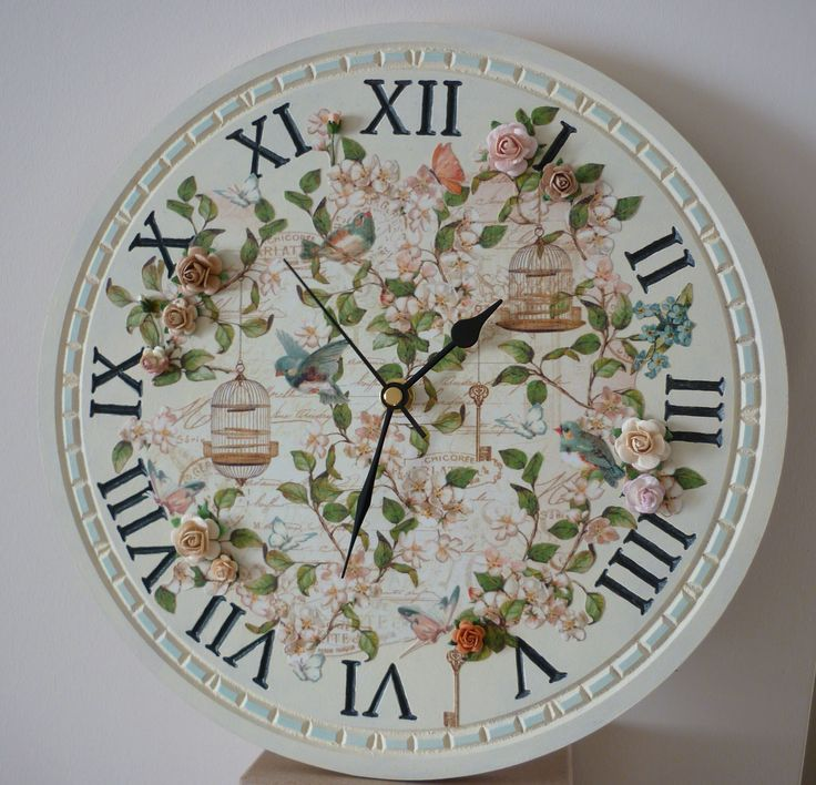 MDF clock & G45 paper - Sarah Field