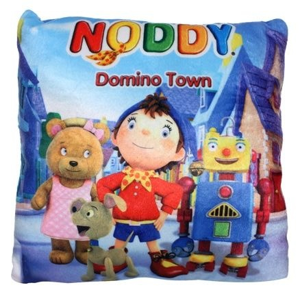 Noddy Square Shaped Cushion- Noddy Domino Town [TSSTSCNDT] - ₹299.00 : Toyzstation.in, The online toys store
