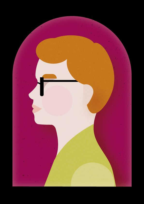 Portrait Vector Illustrations - profile
