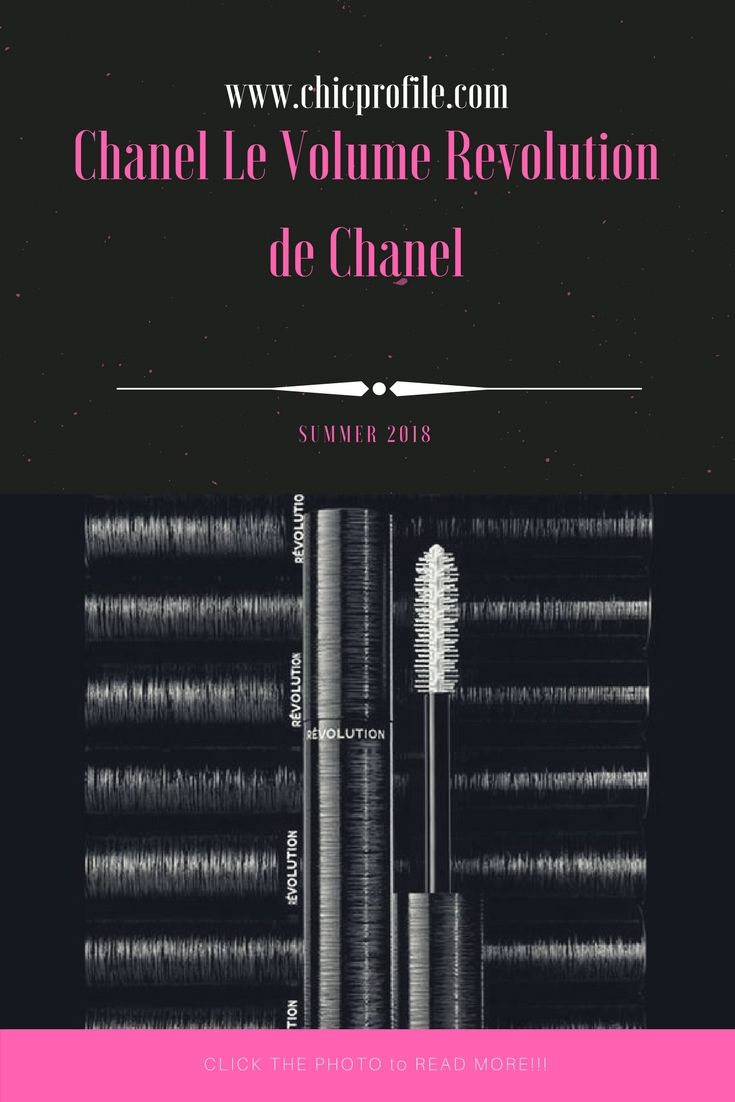 631f792bc6d Chanel Le Volume Revolution de Chanel mascara comes in June 2018 with an  innovative 3D-printed mascara brush. via @Chicprofile