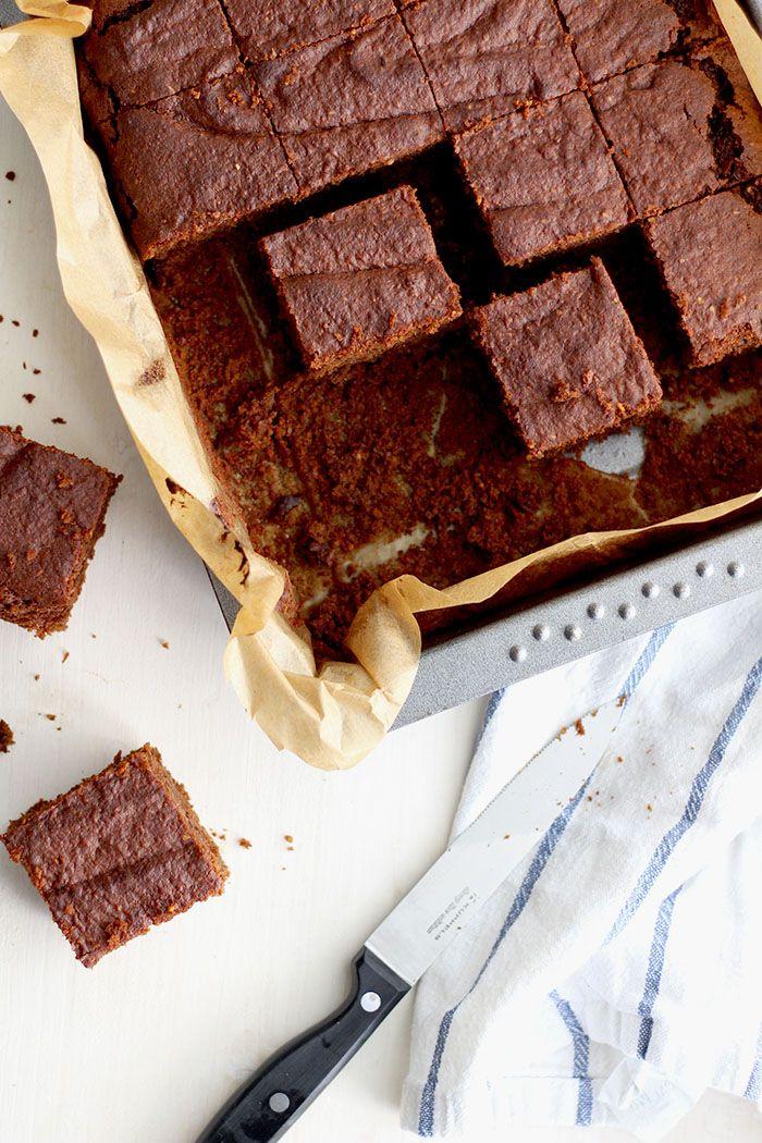 Saftige Kürbis Brownies