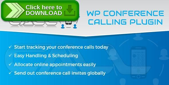 [ThemeForest]Free nulled download WP Conference Call Plugin from http://zippyfile.download/f.php?id=58820 Tags: ecommerce, Audio Conferencing Service, Call Conferencing, Conf Call, conference call, conference call facility, Conference Call Online, Conference number, free conference bridge, free telephone conference, phone conference call, teleconference phone, telephone conference, Telephone Conference Call, Telephone Conference Plugin, WP Chat Plugin