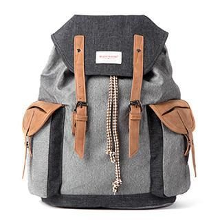 Buy Mr.ace Homme Faux-Leather Backpack at YesStyle.co.uk! Quality products at remarkable prices. FREE SHIPPING to the…