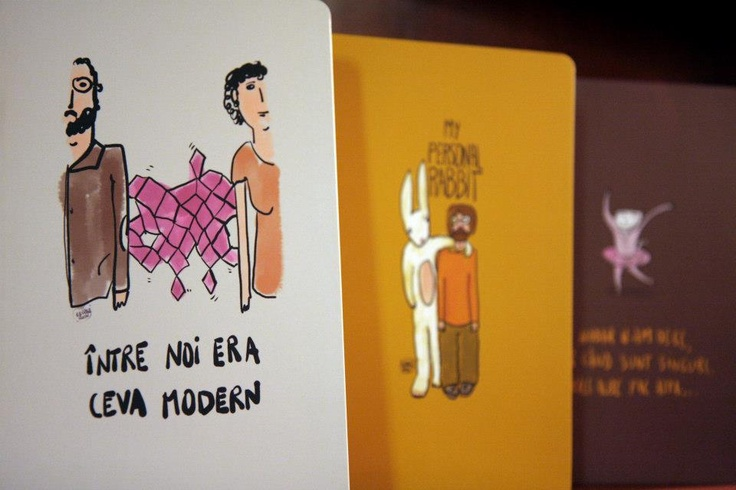 George Rosu designs for ROD notebooks