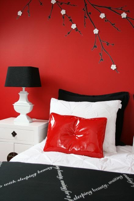 Slaapkamer In Rood : slaapkamer over wonen gesproken – Kleur in je ...