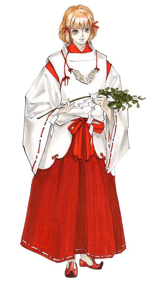 Mina Hakuba from Castlevania: Aria of Sorrow
