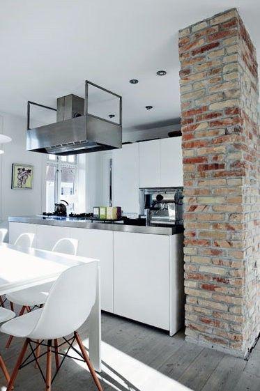 The Design Chaser: Interior Brick   Raw & Authentic