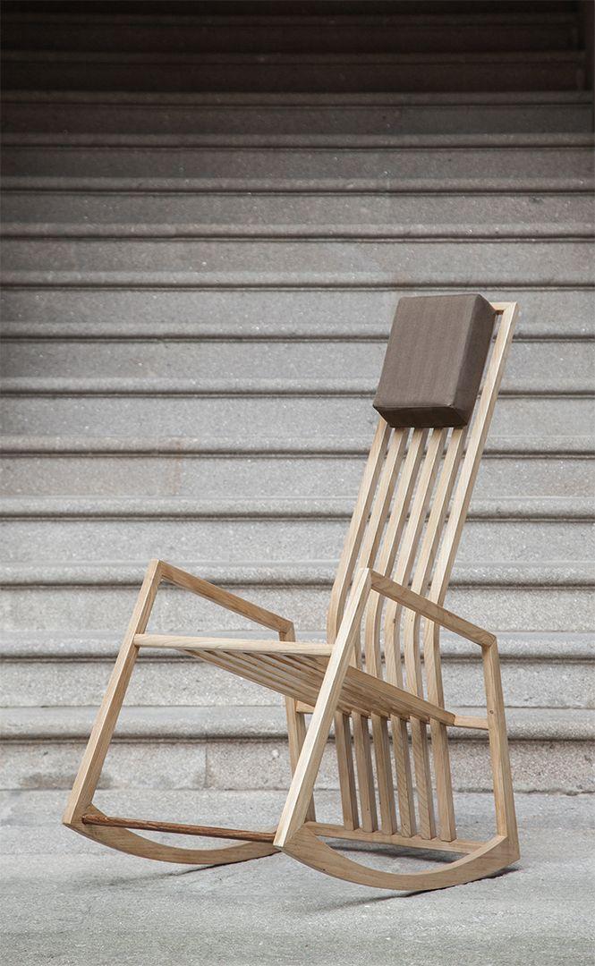M s de 1000 ideas sobre sillas mecedoras en pinterest sillas muebles y sillones - Mecedora diseno ...