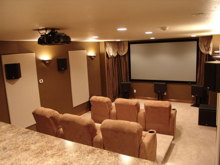 18 best Our Home Theaters images on Pinterest | Home movie theaters ...