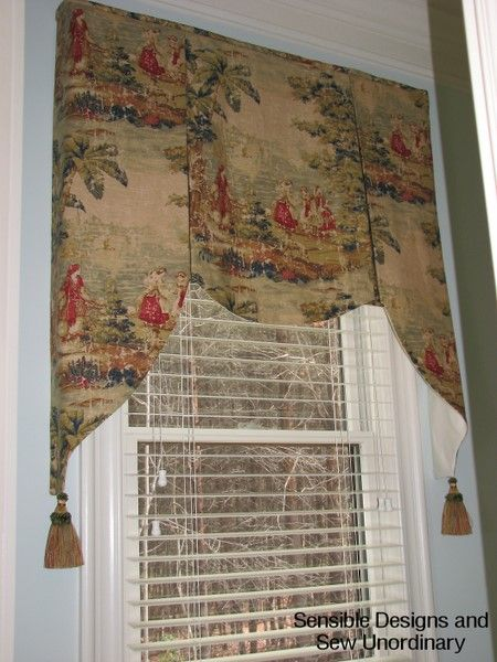 32 best colonial curtains images on pinterest for Colonial window designs