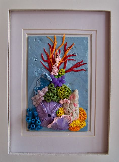 Cherie Brunetti: The Second Time Around (polymer clay tile)