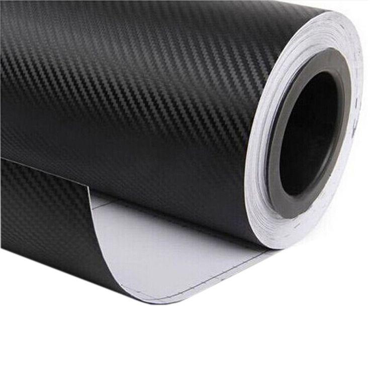 30*127CM Car Accessories Modification Car-Styling 3D Carbon Fiber Vinyl Stickers Original Covers Car Sticker CT-237