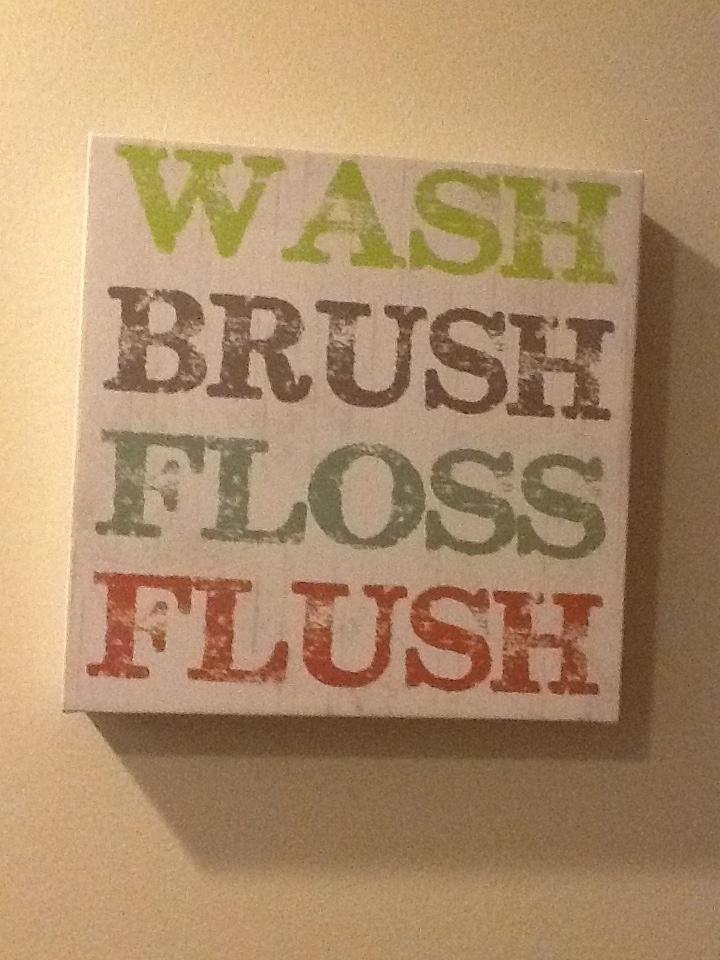 Boys bathroom just a friendly reminder!