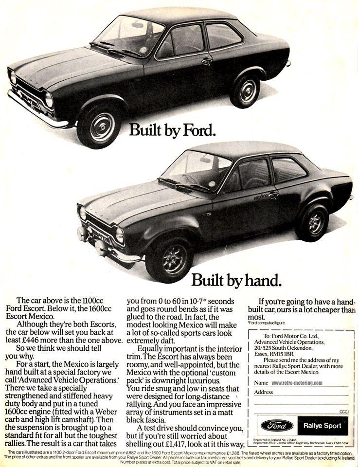70s ford car ads - Google Search