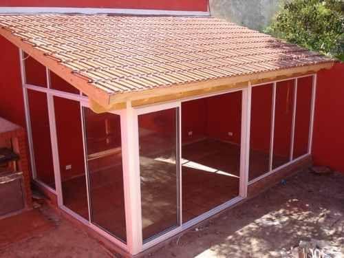 Las 25 mejores ideas sobre techo policarbonato en for Techos de teja para terrazas