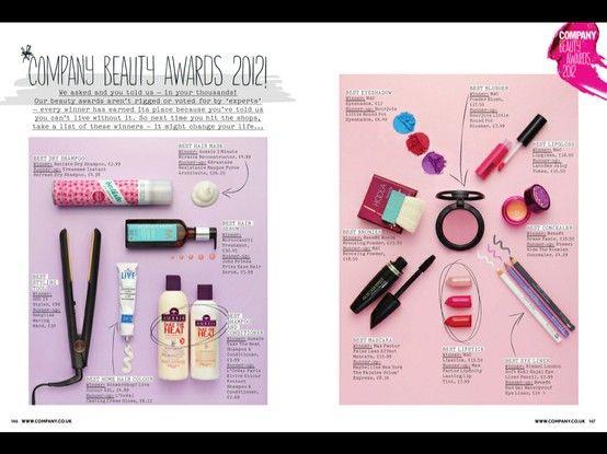 Company Magazine Beauty Awards 2012