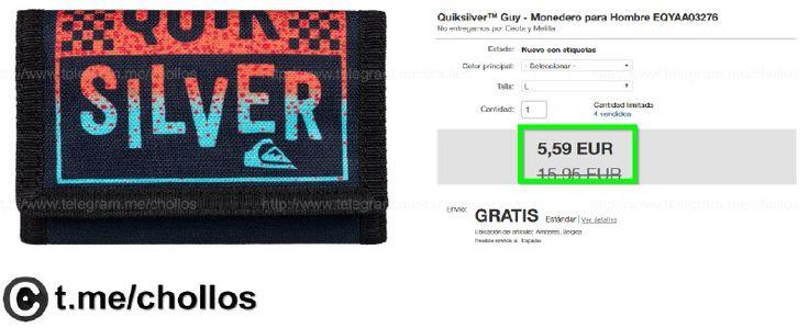 Cartera Quiksilver disponible por tan sólo 559 - http://ift.tt/2nzMqEQ