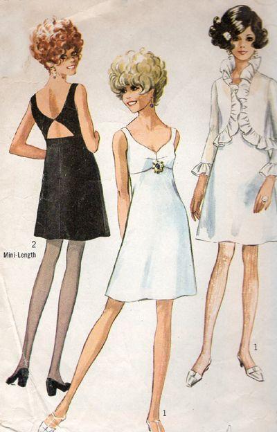 Vintage Disco Dress