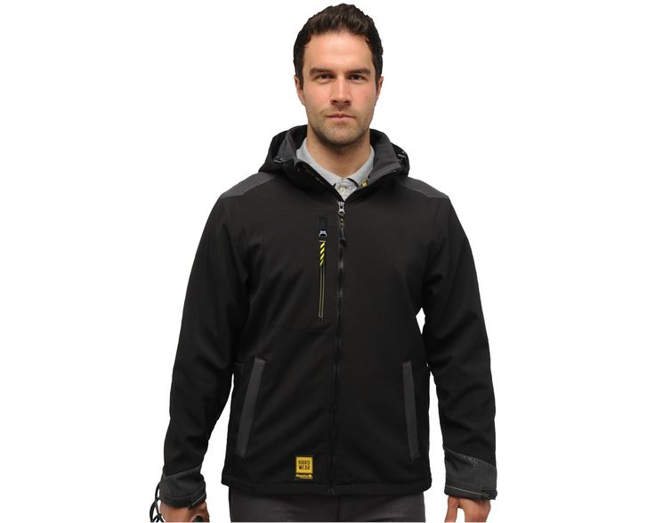 The Regatta Enforcer Softshell Jacket is created with warmth and comfort in mind, manufactured with a warm backed softshell fabric which carries an ATL water repellent finish. The jacket features a detachable and adjustable hood, and attractive yellow trims on the cuffs, zips & zip pulls.