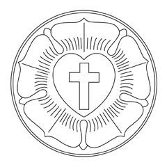 Luther's Seal - black & white
