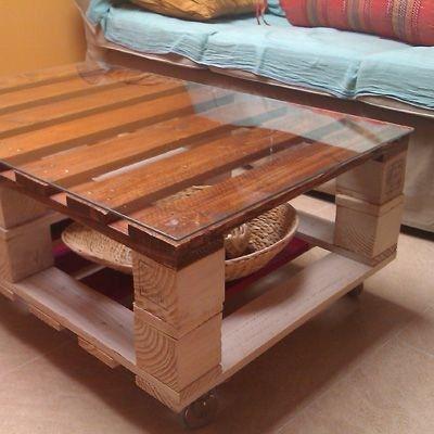 Mesa de tarimas ideas para el hogar pinterest - Manualidades decorativas para el hogar ...