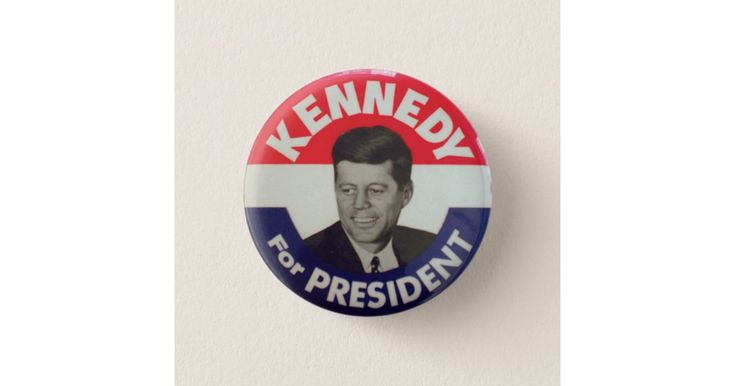 John F. Kennedy (JFK) For President Campaign  Vote Straight Democratic Ticket  Kennedy Johnson Presidential Election Campaign