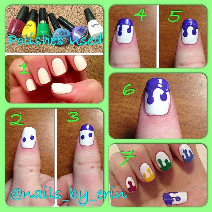 14 best nails images on pinterest drip nails nail art and nail drip nail art tutorial prinsesfo Choice Image