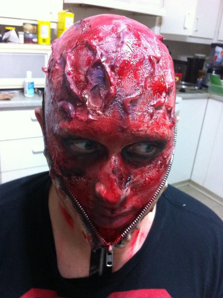 10 best Zipper face make up images on Pinterest | Halloween makeup ...