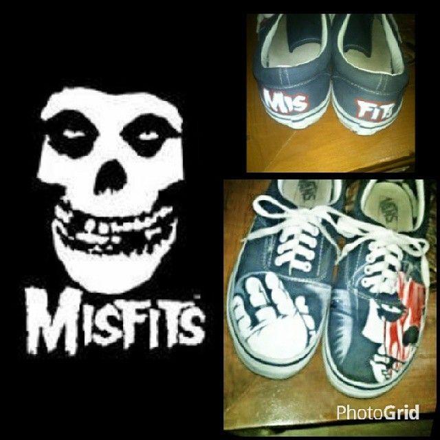 my vans shoes misfits