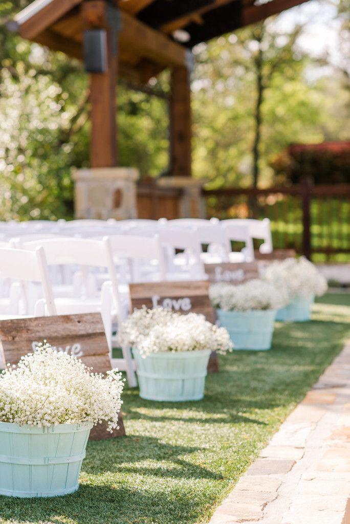 Weatherford Wedding Venue Wedding Aisle Decorations Outdoor