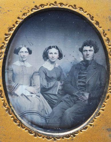 Daguerreotype of three siblings.  in Collectibles, Photographic Images, Vintage & Antique (Pre-1940), Daguerreotypes | eBay