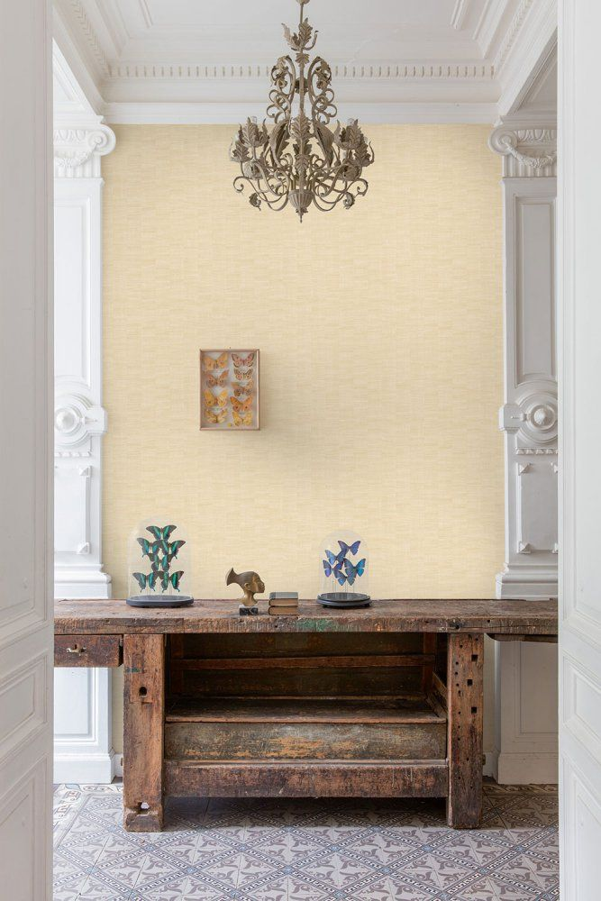 Tapeta na zeď Grandeco - BA1009 #style #home #wallart #inspirace # #waterproof #cover #útulné #jednobarevne #beige
